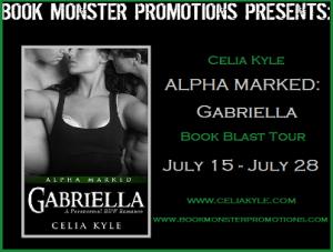 ALPHA MARKED GABRIELLA TOUR BUTTON